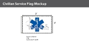 Star of Life Flags 3x5 foot