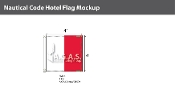 Hotel Deluxe Flags 4x4 foot