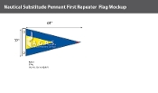 First Repeater Deluxe Flags 32x64 inch