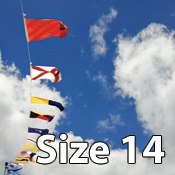 Size 14 International Code of Signals