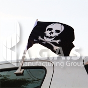 Pirate Car Flags