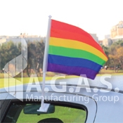 Rainbow & Pride Car Flags