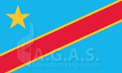 Congo (Democratic Republic) Flag