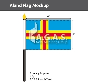 Aland Stick Flags 4x6 inch