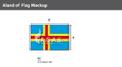 Aland Flags 4x6 foot