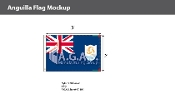 Anguilla Flags 2x3 foot