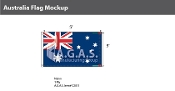 Australia Flags 3x5 foot