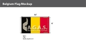 Belgium Flags 6x10 foot