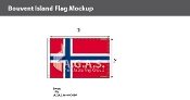 Bouvent Island Flags 2x3 foot