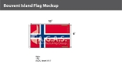 Bouvent Island Flags 6x10 foot