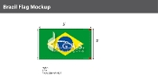Brazil Flags 3x5 foot