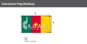 Cameroon Flags 3x5 foot