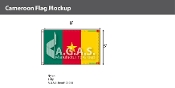 Cameroon Flags 5x8 foot