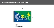 Christmas Island Flags 2x3 foot