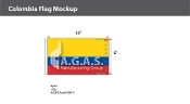 Colombia Flags 6x10 foot
