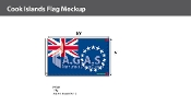 Cook Islands Flags 6x10 foot