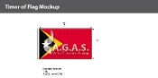 East Timor Flags 3x5 foot