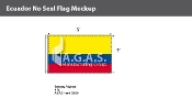 Ecuador Flags 3x5 foot (no seal)