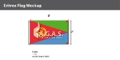 Eritrea Flags 5x8 foot