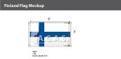 Finland Flags 3x5 foot