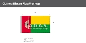 Guinea Bissau Flags 3x5 foot