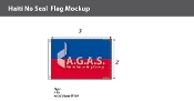 Haiti Flags 2x3 foot (no seal)