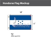 Honduras Flags 12x18 inch