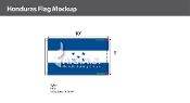 Honduras Flags 6x10 foot