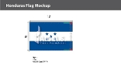 Honduras Flags 8x12 foot