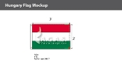 Hungary Flags 2x3 foot