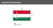 Hungary Flags 6x10 foot