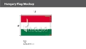 Hungary Flags 8x12 foot