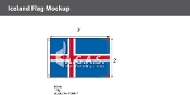 Iceland Flags 2x3 foot