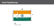 India Flags 6x10 foot