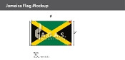 Jamaica Flags 5x8 foot