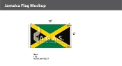 Jamaica Flags 6x10 foot