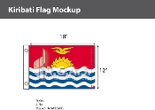 Kiribati Flags 12x18 inch