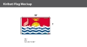 Kiribati Flags 6x10 foot