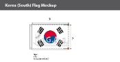 Korea South Flags 2x3 foot