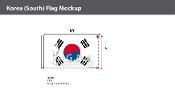 Korea South Flags 6x10 foot