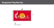 Kyrgyzstan Flags 6x10 foot
