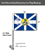 Lord Howe Island Car Flags 12x16 inch Economy
