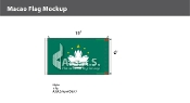 Macao Flags 6x10 foot