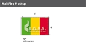 Mali Flags 4x6 foot