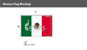 Mexico Flags 8x12 foot
