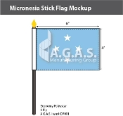 Micronesia Stick Flags 4x6 inch