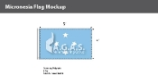 Micronesia Flags 3x5 foot