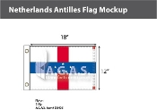 Netherlands Antilles Flags 12x18 inch