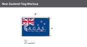 New Zealand Flags 4x6 foot