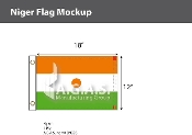 Niger Flags 12x18 inch